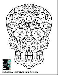 printable coloring pages sugar skulls enchanting sugar skull coloring pages skulls printable coloring