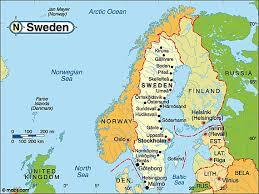 map of sweden destination sweden travel and tourist information map of sweden