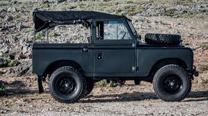 land rover vintage this blacked out vintage land rover is incredible airows