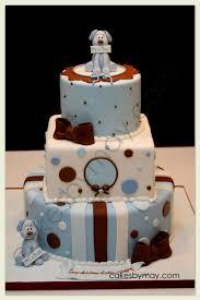 a boy baby shower cake