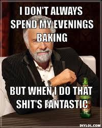 Baking Meme - guinness me baby