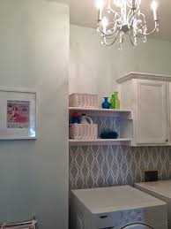 Vintage Laundry Room Decorating Ideas by Laundry Room Wallpaper Laundry Room Design Floral Wallpaper