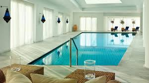 Residential Indoor Pool The Elounda Spa And Thalassotherapy Blue Palace