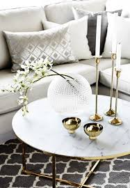 marble gold coffee table gold coffee tables for perfect interiors 23 pics interior