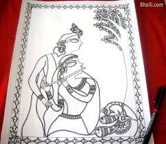 madhubani painting in 6 easy steps u2013 bhaili u2013 your friend