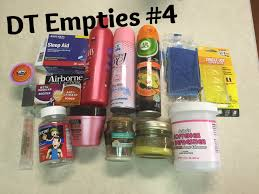 dt empties 4 dollar tree products reviews april 2016