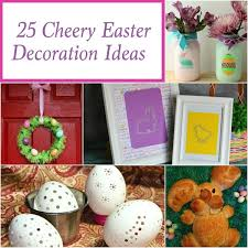Easter Decorations For Wreaths by 25 Cheery Easter Decorations Thrifty T U0027s Treasures