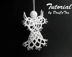tatted mini 3d pattern and tutorial lace pattern