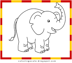 coloring pages printable for kids elephant coloring pages for kids