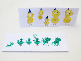 teaching kids about design with homemade birthday cards creative