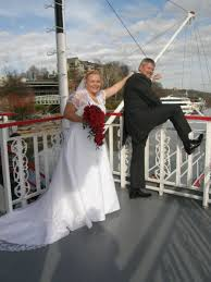 wedding on a boat wedding cruises tennessee river boat