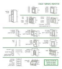 cabinet door sizes chart standard kitchen cabinet sizes chart photo 3 of 6 nice kitchen