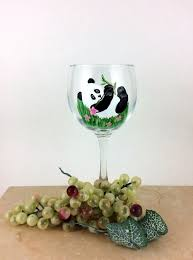 hand painted glass wine lover gift new home gift mothers day