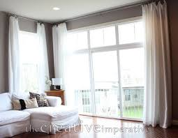 How Wide To Hang Curtains Best 25 Extra Long Curtains Ideas On Pinterest Curtain