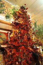 harvest tree decorate a pre lit entryway tree for fall
