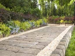 Interlocking Concrete Blocks Lowes by Garden Exciting Pavers Home Depot For Inspiring Your Landscape