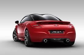 peugeot rcz inside new peugeot rcz r sports car details and pictures