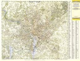 Geography Of Virginia World Atlas by Suburban Washington Dc Maryland U0026 Virginia Map 1948 Maps Com