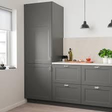 ikea black kitchen cupboards axstad door gray 21x20