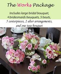 wedding flowers packages wedding packages