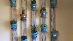 Hanging Wall Planters Make A Cool Succulent Wall Planter Diy Home Guidecentral Youtube