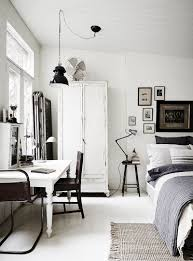 Black And White Bedrooms The White Room U2013 Vintage And Rustic Interiors Industrial Spaces