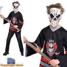Kids Jason Halloween Costume Amscan Complete Horror Synthetic Fancy Dress Boys Ebay