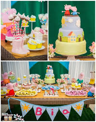 peppa pig party kara s party ideas peppa pig themed birthday party planning