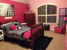 zebra and pink everything alyssa u0027s room pinterest bedrooms