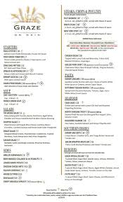 graze on main new menu starting 12 22 16 smith enterprises a