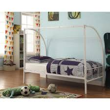 Childrens Bed Headboards 4d Concepts Boltzero Twin Steel Kids Bed 154663 The Home Depot
