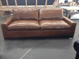 Chestnut Leather Sofa Braxton 8ft Leather Sofa Sleeper U2013 Italian Glove Chestnut U2013 46