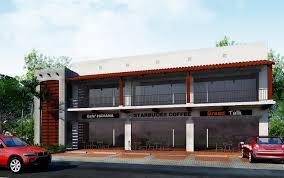 2 storey commercial building floor plan storey commercial building design philippines proposed building