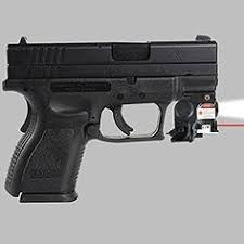springfield xds laser light combo lasertac rechargeable subcompact green laser sight light combo for