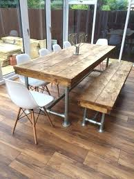 Cafe Style Table And Chairs Dining Table Industrial Style Dining Table Australia Reclaimed