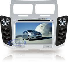 Lcd Yaris Concept T Ty70ys Toyota Yaris 7 Lcd Touchscreen Dvd Cd Receiver