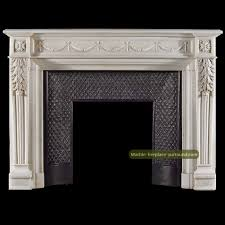 ribbon tied bay leaf fireplace mantels and surrounds with colonial