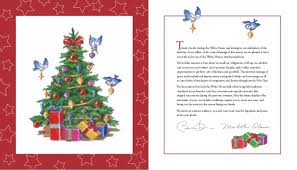 White House Christmas Decorations Book by White House Holiday Tour Book 2015