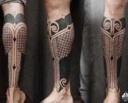 geometric tribal on leg best ideas gallery