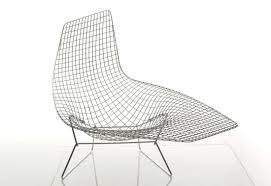 chaise bertoia knoll bertoia asymmetric chaise by knoll stylepark