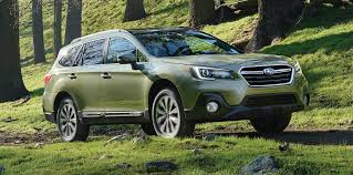 green subaru subaru outback facelift unveiled in the us