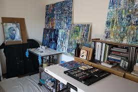 Art Studio Desk by Contemporary Art Studio Fabiano Art