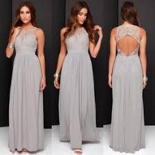 discount cheap grey silver bridesmaid dresses 2017 cheap grey
