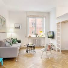 minimalistic 355 square foot studio apartment in stockholm is