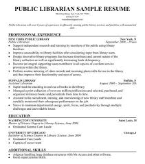 A Job Resume Sample by Librarian Resume Berathen Com