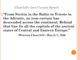 What Is The Iron Curtain Speech Opcvl Method Of Document Based Analysis To Improve Students