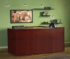 Executive Reception Desk Desk Amazing Executive For Sale Craigslist Office Great Intended