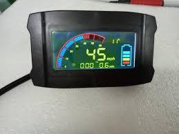 light blue electric scooter electric scooter speedometer lcd display 36v48v60v72v84v96v with
