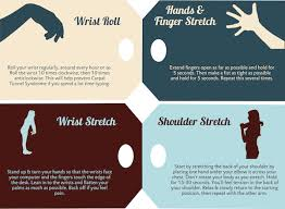 Desk Exercises At Work Infographic Quick Stretching Exercises You Can Do At Your Work