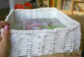 Comment Fabriquer Un Salon Marocain by Diy Comment Fabriquer Panier De Papier Journal U2013 Cameplait